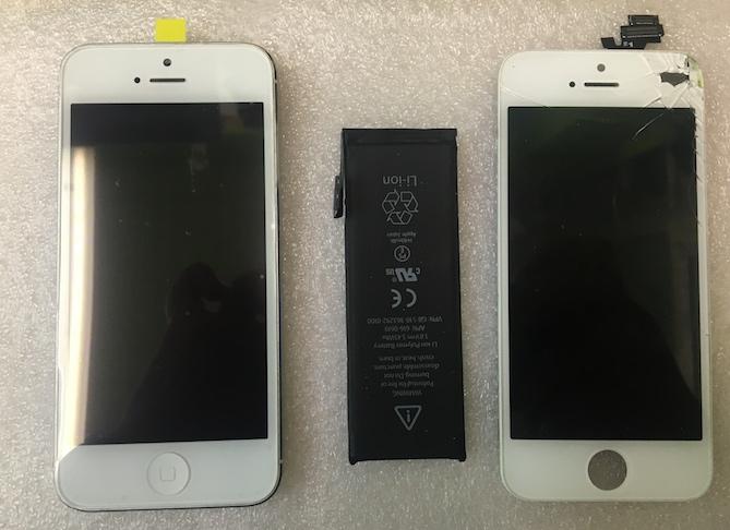Разбор Iphone 5