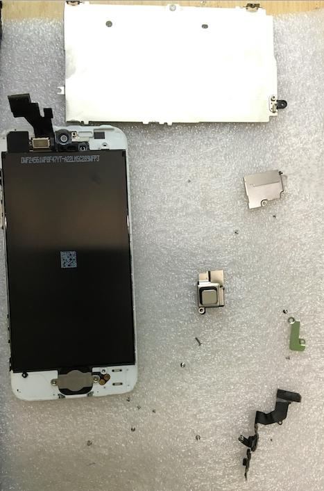 Разборка Iphone 5 фото инструкция