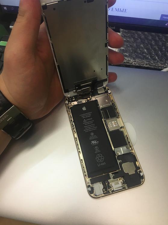 Дисплей и плата Iphone 6