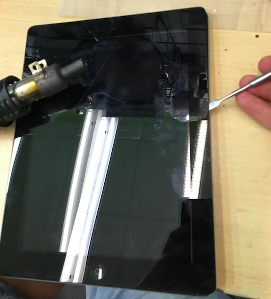 Разбор iPad 2